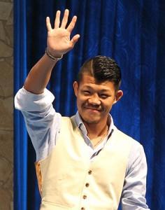 亀田興毅 さん(ボクシング世界王者)の手相