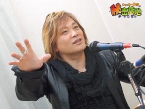 影山 ヒロノブさん(アニメソング歌手)の手相