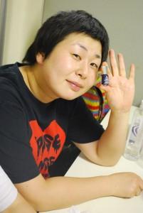 大島 美幸さん(芸人・森三中)の手相