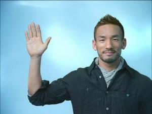 中田 英寿さん(元・サッカー選手)の手相